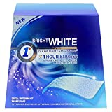 Grinigh 28 Whitestrips Professional Bleaching Stripes zur Zahnaufhellung (mit Advanced no-slip technology )für Zähne Zahnweiss stripes in 14 Tagen Ohne Peroxide (2 Streifen strips /pro Beutel)