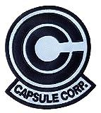 Dragon Ball Z Capsule Corp. Aufnäher Patch