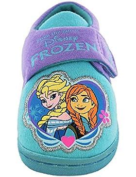 Disney Ragazza Bimbo Frozen Olaf Elsa Anna Babuccia Pantofola - Misure Bambini 4-12