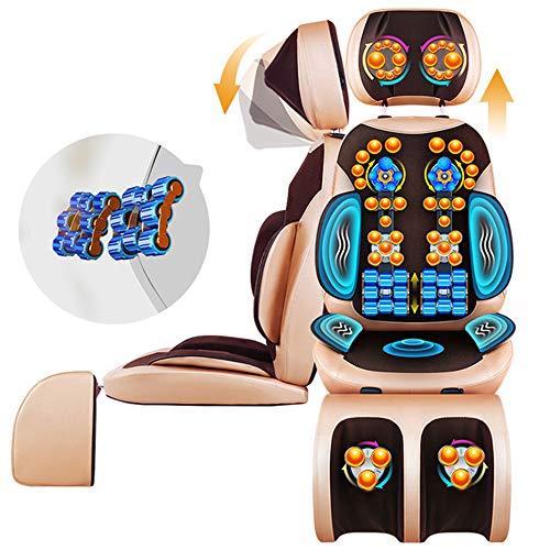 Shiatsu Massage Pad mit Hot beweglichen Sitzkissen Massageeinrichtungen, Tiefknieschmerzlinderung, Geeignet für Haus, Büro und Auto-Gebrauch -