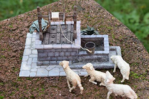 Presepe, il pozzo - diorami, miniature