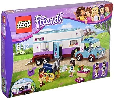 LEGO - 41125 - Friends - Jeu de construction - La Remorque à Chevaux du Vétérinaire