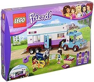 LEGO Friends 41125 - Set Costruzioni Rimorchio Veterinario Dei Cavalli