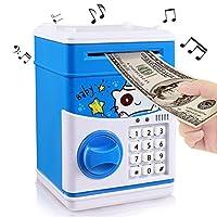 Kids Cartoon Music Piggy Bank ha 11 canzoni per bambini. Il suono della musica, le luci lampeggiano e c'è un tipo di suono arcobaleno carino che rende i numeri di stile ATM e il codice per l'apertura dovrebbe essere davvero interessante per i...