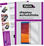 dipos I 2X Schutzfolie klar passend für Lenovo K5 (2018) Folie Bildschirmschutzfolie