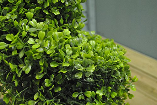 Pair-Of-Artificial-Topiary-Swirl-TreesBushes-80cm-High-suitable-for-indoor-and-outdoor-use