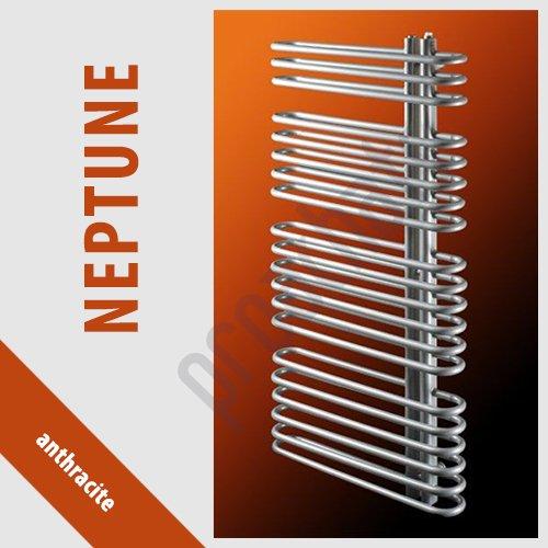 RADIATEUR SALLE DE BAINS sèche- serviettes NEPTUNE anthracite N-16/60 940x600