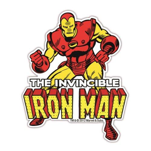 Magnet Iron Man Marvel Comics - Kühlschrankmagnet - Lizenziertes Originaldesign - LOGOSHIRT