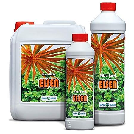 Aqua Rebell ®️ Micro Basic Eisendünger – 0,5 Literflasche – optimale Versorgung für Ihre Aquarium Wasserpflanzen…