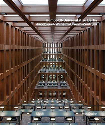 Max Dudler: Jacob and Wilhelm Grimm Centre, The New Central Library of the Humboldt University in Berlin (English and German Edition) by Max Dudler (2010-10-15)