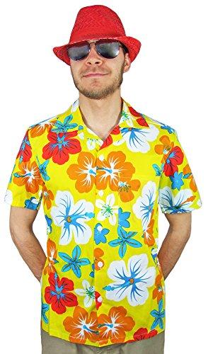 ii Hemd Hibiskus Gelb Gr. 54 (Eine Kultur Ist Nicht Ein Kostüm)