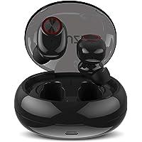 Écouteurs Bluetooth, Muzili Écouteur sans Fil Oreillette Bluetooth Léger Stéréo HD Casque Sport IPX5 Étanche 500mAh Boîtier de Chargement 25h Lecture de Microphone Intégré pour iOS et Android