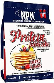 NPN Protein Pancake mix | Formula senza glutine | Tripla fonte proteica | Agitare e cuocere 26 frittelle | 910