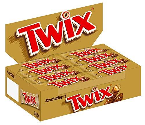 Twix 50g (Pack of 32)