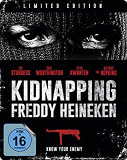 Kidnapping Freddy Heineken - Steelbook/Limited Edition [Blu-ray]