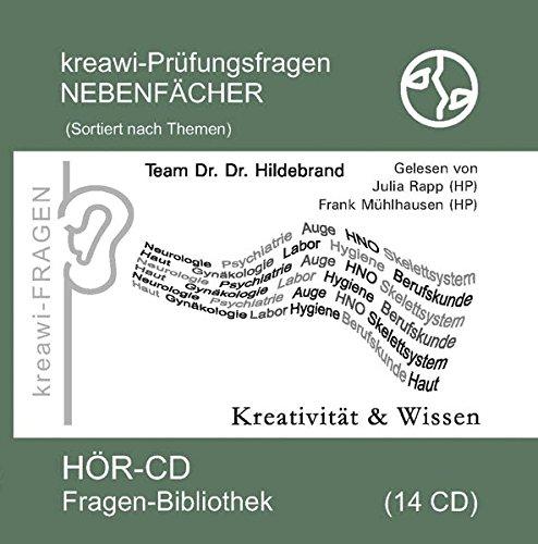 kreawi-Prüfungsfragen Nebenfächer: kreawi-Fragenbibliothek. Themensortiert, 14 CDs