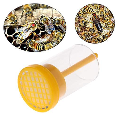 Hengzi Bee Marking Catcher Einhand-Markierflasche Plunger Plush Tool