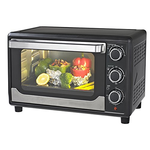 compact-mini-kitchen-23-litre-capacity-oven-includes-wire-rack-baking-tray-cooking-grilling-and-baki