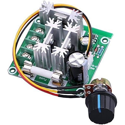 Yeeco® Corriente continua Motor Controlador Motor Velocidad Controlar 6V-90V 15A 1000W 16 kHz 6V 12V 36V 60V 90V velocidad Regulador Módulo Apoyo PLC Controlar Velocidad Controlador Regulador de intensidad Gobernador