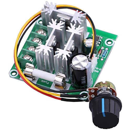 Yeeco High Efficiency Dc Electric Motor Control Motor Speed Regulation PLC Governor Speed Governor 6v-90v 15a Pump Pwm Continuously Variable Speed Controller Stepless 10% -100% Test