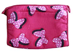 Aakruti Creations Toiletry Kit / Toiletry Bag / Toiletry Pouch with toothpaste tooth brush pouch, Travel Accessories Collection (Pink)
