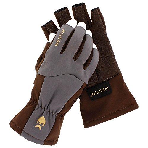 WestinW4 QuickGrip Half-Finger Glove L Chestnut/Grey