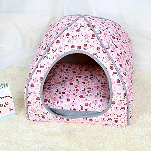 WWSSXX Welpen Kennel Dog House Nest Mit Matte Faltbare Hundebett Katze Bett Für Kleine Mittelgroße Hunde Reise Haustier Sleepping Tasche -