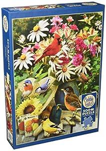 Cobblehill 85035 - Puzzle (500 Piezas), diseño de pájaros