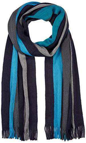 s.Oliver Herren Schal 97711913966, Blau (Blue Stripes 59G2), One Size
