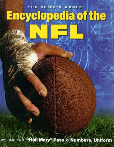 Hail Mary Pass >> Numbers, Uniform (The Child's World Encyclopedia of the NFL)