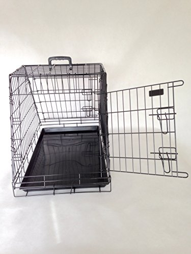 doghealth Car Cage with escape hatch 2 Doors GYC03P 3