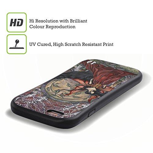 Ufficiale Amy Brown Guardiano Fantasy Case Ibrida per Apple iPhone 7 / iPhone 8 La Bella E La Bestia