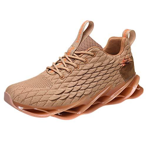 Lucky Mall Sommer-Ineinander greifen-Breathable Sportschuhe der Männer, rutschfeste Turnschuhe-stoßdämpfende gehende Schuh-helle Spielraum-Schuh-Plattform-Freizeitschuhe