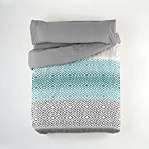 Juego funda nórdica POOL Purpura Home. Cama 105 cm. Gris - Sedalinne