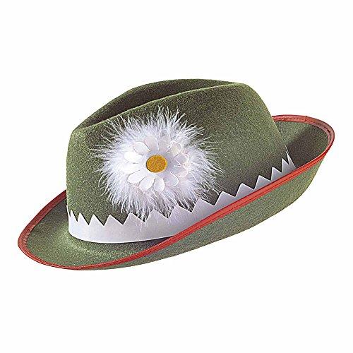 Widmann Tiroler Hut mit Edelweiß und Federn