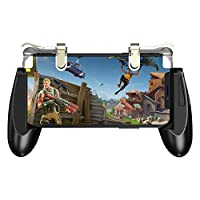 ‏‪GameSir F2 Gamepad Firestick Grip for Android & iOS Phone Game Mount Bracket Pubg mobile Trigger Fire Button Aim Key‬‏
