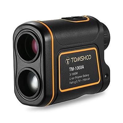 TOMSHOO Entfernungsmesser 600M 1000M