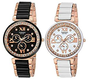 Fabiano New York Analogue Multicolor Dial Girl's Watch - FNY02002