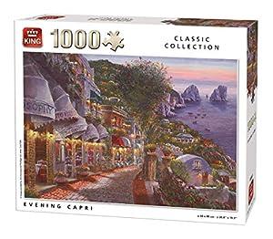 King 55863 - Puzzle de 1000 Piezas (68 x 49 cm), diseño de Capri