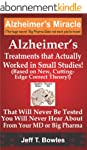 ALZHEIMER'S TREATMENTS THAT ACTUALLY...