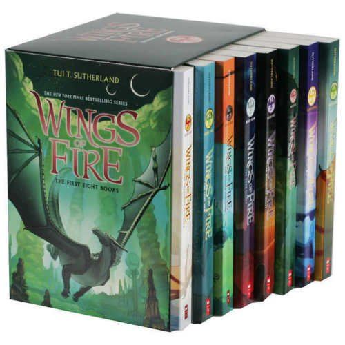 Wings of Fire Box Set Bücher 1-8 The First Eight -