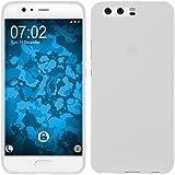 PhoneNatic Case für Huawei Honor 6a Hülle Silikon weiß matt Cover Honor 6a Tasche Case
