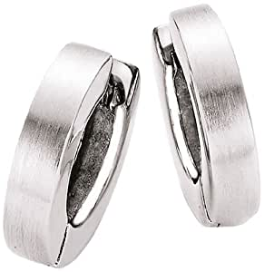 Spirit - New York Damen-Creolen 925 Silber rhodiniert - 94006593