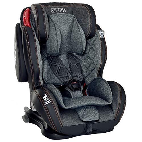 LCP Kids Autokindersitz Isofix 9-36 kg GT Comfort Gruppe 1 2 3 - schwarz
