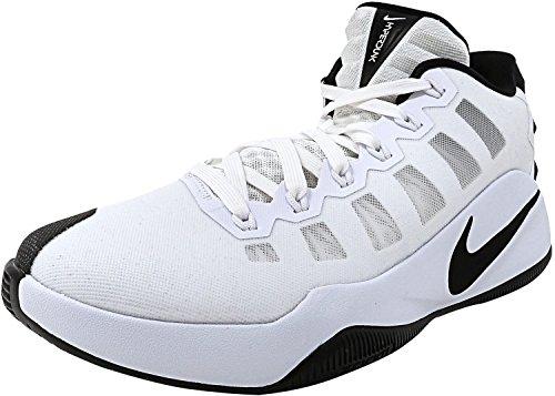 Nike Hyperdunk 2016 Low, Scarpe da Basket Uomo Blanco (Blanco (white/black))