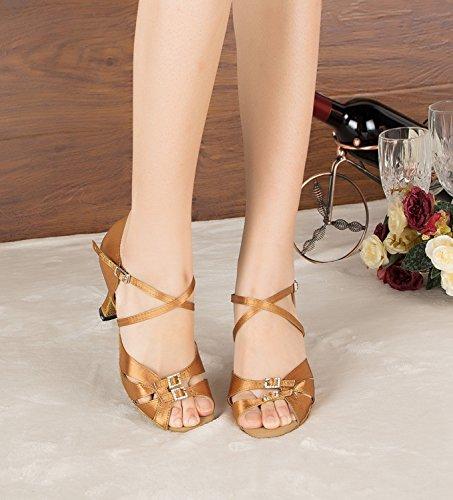 Miyoopark , Salle de bal femme Brown-8cm heel