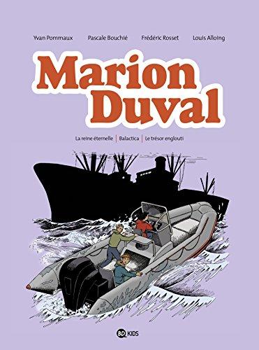 Marion Duval intégrale, Tome 08: La reine éternelle - Balactica - Le trésor englouti par