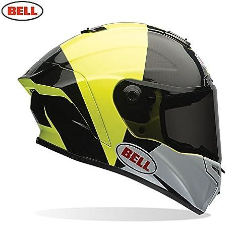 Bell Helmets Street 2017 Star Adult Helmet, Spectre Black/Yellow, Size Medium