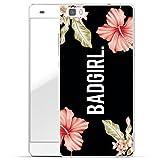 Finoo Huawei P8 Lite Hard Case Handy-Hülle mit Motiv | Dünne stoßfeste Schutz-Cover Tasche in Premium Qualität | Premium Case für Dein Smartphone| Badgirl