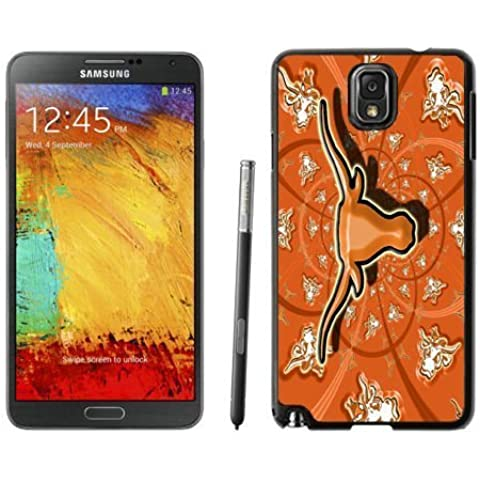 Designer Samsung Galaxy Note 3 Cover Ncaa Big 12 Conference Texas Longhorns 18 Hot Phone Case